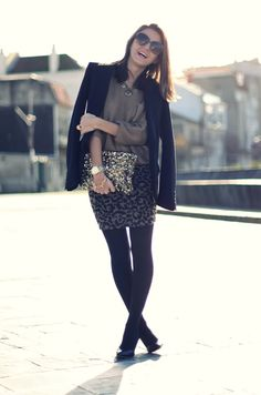 leopard pencil skirt - Lovely Pepa by Alexandra