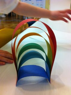 Rainbow activity to strengthen core muscles and work on fine motor skills at the same time! Sensory Motor, Gross Motor Activities, Work Activities, Therapy Activities, Educational Activities, Rainbow Games, Rainbow Activities, Rainbow Theme, March Themes