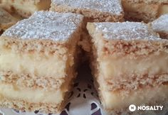 Hungarian Desserts, Hungarian Recipes, Kaja, Sweet And Salty, Vanilla Cake, Breakfast Recipes, Recipies, Cooking Recipes, Yummy Food