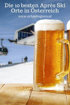 Pint Glass, Beer, Mugs, Tableware, Ski Trips, Places, Travel, Ale, Dinnerware