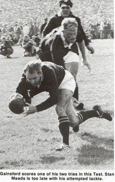 John Gainsford, een van die Springbokke se beste senters, in die klas van Mannetjies Roux en Danie Gerber (my mening). (Mclook rugby collection)