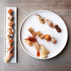 Blow torch sushi   _____________________________________________ #sushi #sashimi #miku #oshi #aburi #love #yummy #toronto #yyz #foodie #instafood #nomnom #delicious #nigiri #foodporn #torontoeats #torontofood #torontofoodie by themonthofjune92