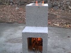 The DIY Cinder Block Rocket Stove is an incredibly simple and efficient way to cookusing natural fuel such as leaves or sticks. The beauty of this design is it focuses all of the heat from…