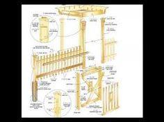 tor selber bauen passend zum zaun wwwselber bauende gartentor, Moderne