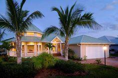Daniel Wayne Homes' Useppa Model in Fort Myers, Florida.