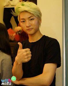 Hojoon | I swear he's trying to make me bias him or something....