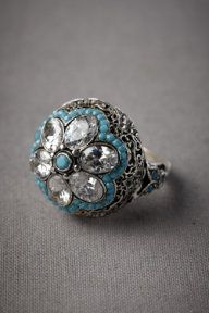 Flowered Dais Ring
