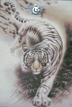 tiger cross stitch pattern http://www.22crossstitch.com/products/code-a2234/