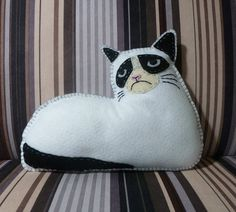 Sew your own Grumpy Cat. Trust us, he'll hate it. | Cool Mom Picks