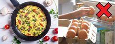 Jak zrobić idealny omlet - 5 zasad + przepis podstawowy Kobieceinspiracje.pl Quiche, Appetizers, Menu, Breakfast, Food, Diet, Menu Board Design, Morning Coffee, Appetizer