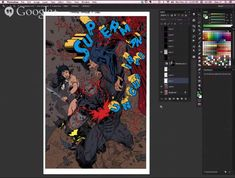 How+to+Color+Comic+Book+Art
