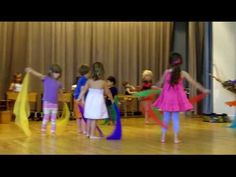 Bird Scarf Dance - Summer Arts Camp 2010 - Settlement Music School