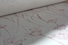 Putsborough Cowparsley Petal on Warm white linen