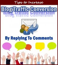 As a blogger, what do you do to increase the conversion of your new blog visitors into loyal and regular blog audience? In this post, there are tips for you on how to use replying to the comments on your blog as a tool to achieve this objective. :)