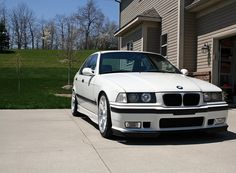 bmw-e36-m3-sedan-white-apex-arc-8 | Rides & Styling