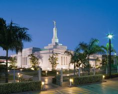 Asuncion Paraguay Temple of the Church Of Jesus Christ of Latter-Day Saints.   This is where my son served his mission for 2 years. 2011-2013