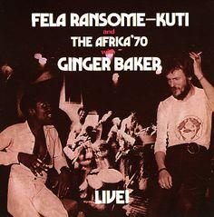 Fela & Ginger Baker: Fela & Ginger Baker Live! (180 gram pressing)