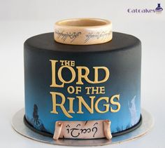 Lord of the Rings cake - Cake by CatcakesMadrid: