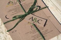 Tipi Wedding Invitations Bundle - Invite and RSVP