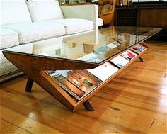 Mid-Century Modern coffee table.