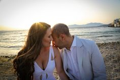 We feature the lovely wedding of David and Michela that took place on Mykonos Island. The day was captured by wedding photographer Athanasios Papadopoulos. Mykonos Island, Anniversary Photos, Santorini Greece, Island Weddings, Photo Sessions, Real Weddings, Wedding Photos, Wedding Photography, Bride