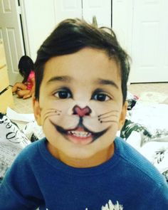 Cat in the hat makeup for boys