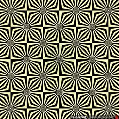 In this pattern, the colored dots seem to flicker. By Gianni Sarcone. Of course, there's also the flickering lines going in both directions following the dots.