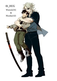 Worick Arcangelo and yung Nicolas Brown Manga Books, Manga Art, Anime Manga, Gangsta Anime, Anime Gangster, Anime Inspired Outfits, Fairy Tail Anime, Hot Anime Guys, Beach Trip
