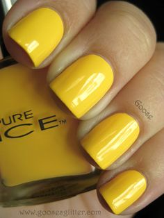 i need yellow nail polish