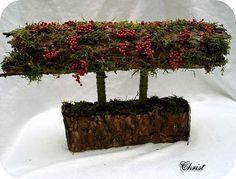 Bloemschikken met boomschors Winter Christmas, Xmas, Fall Decor, Flower Arrangements, Floral Design, Projects To Try, Christmas Decorations, Diy Crafts, Flowers