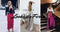 ¿Qué ponerte en la Feria de Abril, cuándo no vas vestida de Flamenca? Ruffle Pants, Polka Dot Skirts, Polka Dot Dresses, Flamenco Dresses, Sequins, Wedding Invitations