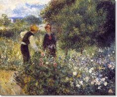 Pierre-Auguste Renoir Impressionist Paintings   Auguste Renoir - Pierre-Auguste Renoir French Impressionist Painting ...