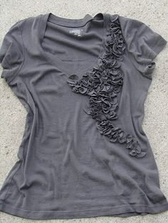 petal tshirt refashion