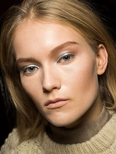 NYFW Fall 2015 - Beauty Trends - Sparkly Accents - Zac Posen