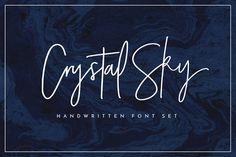 Crystal Sky Font Set by Sam Parrett on @creativemarket