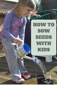 Sowing seeds with kids isn't complicated, but there are a few things you can do which make it more fun and also more successful. Here are my top tips for getting it right.