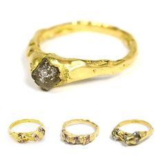 TheCarrotbox.com modern jewellery blog : obsessed with rings // feed your fingers!: Ruth Wood / Imogen Belfield / Ammal Labib