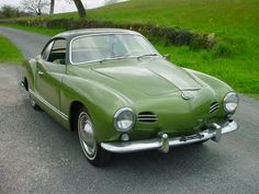 I love the subtle class of the old Karmann Ghia.