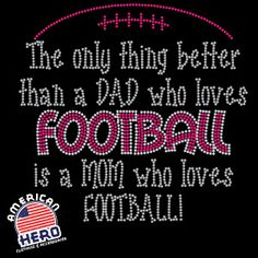 Football mom rhinestone clothing, bling t-shirts