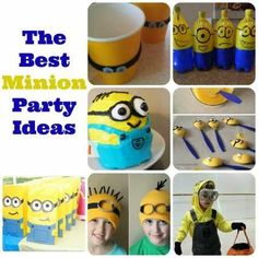 The best Minion party ideas hand selected by Craft Gossip Editors minion-party-ideas-despicable-me DIY Party Ideas #partyideas #crafts #decorations