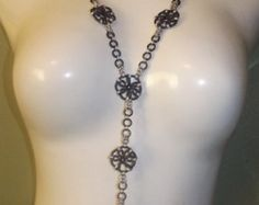 Chainmaille Pinwheel Necklace