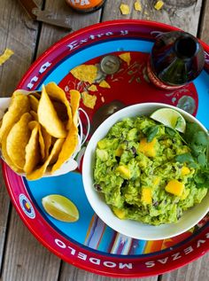 Pin for Later: Celebrate Your Love For Avocado With 35+ Amazing Recipes Mango Black Bean Guacamole Get the recipe: mango black bean guacamole