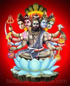 Panchavaktra (five-headed shivan)Shiva has five major forms and five major energies.