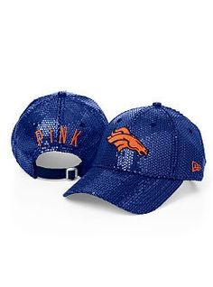 Victorias Secret!  Denver Broncos sequin hat. Just ordered one for me and one for Sophie.