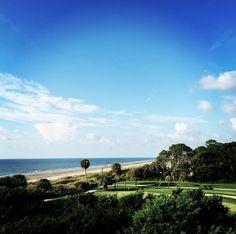 View of the Robert Trent Jones Course at Palmetto Dunes on Hilton Head Island.