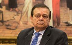 O deputado Jovair Arantes durante primeira reunião da comissão especial que analisa o processo de impeachment da presidente Dilma Rousseff
