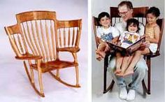 Rocking chair for serious story reading
