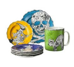 target-wiccan-lace-multicolor-dinnerware-collection