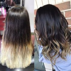 #ColorCorrection  #Balayage Base 5.0 + 20 Vol, Toned with 8.1 + 10 Vol #GKhair #Juvexin #CreamColor #Haircolor #blended #LongHair #Ombre #BTC #ModernSalon #blondhair #Beautysbest #Stylistchoice #HotonBeauty #Hairstylist #loosecurls #Beforeandafter #Colormelt #FBF #loveit #swag #colorpop #highlights  @stylingbyalexis