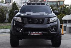 Image may contain: car and outdoor Nissan 4x4, Nissan Trucks, Nissan Navara, Black Beast, Pickup Trucks, Frontier Nissan, Cars And Motorcycles, Jeep, Automobile